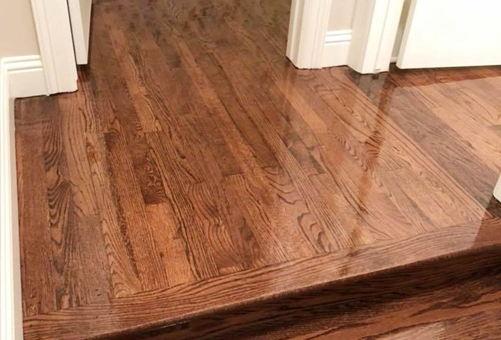 laminate flooring stair step
