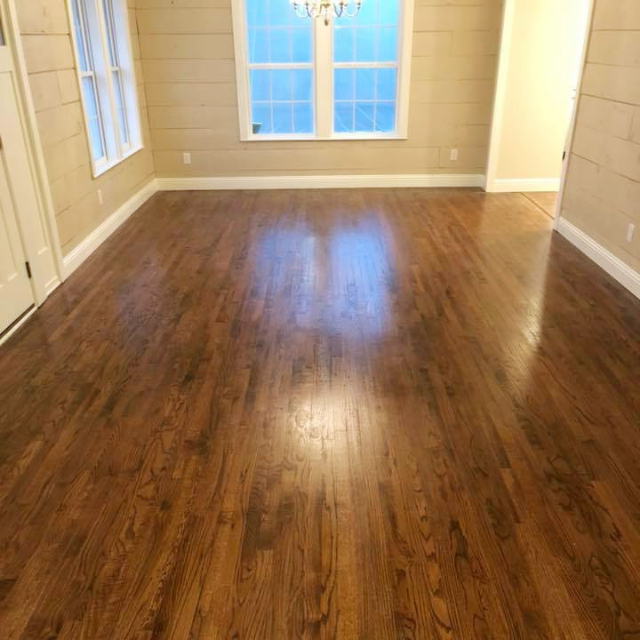 hardwood flooring in well lit room
