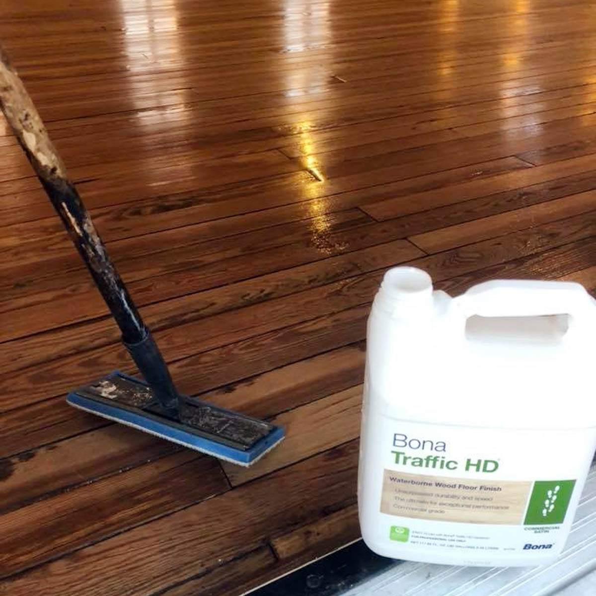 hardwood floor refinishing polish