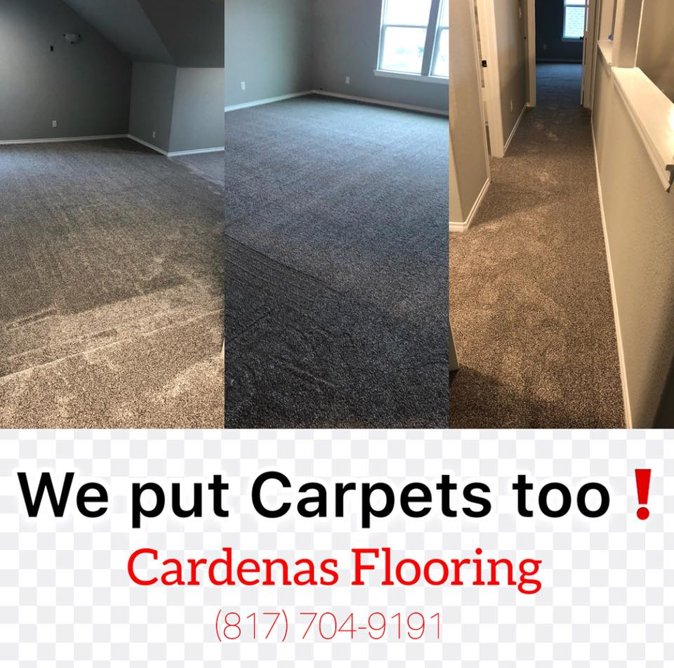 we do carpets now