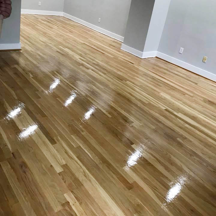 laminate flooring in room
